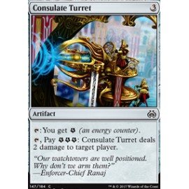 Consulate Turret FOIL