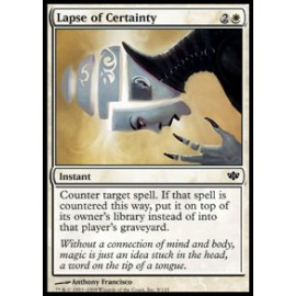 Lapse of Certainty (Conflux)