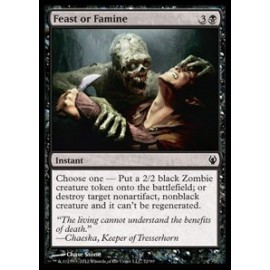 Feast or Famine (DD: Izzet vs. Golgari)