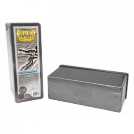 Pudełko Dragon Shield na 240 kart - srebrne