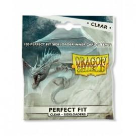 Koszulki wewnętrzne boczne 100szt. Clear/Clear - Dragon Shield