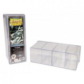 Pudełko Dragon Shield na 240 kart - przezroczyste