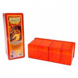 Pudełko Dragon Shield na 240 kart - pomarańczowe
