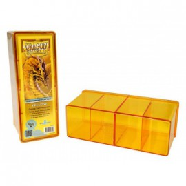 Pudełko Dragon Shield na 240 kart - żółte