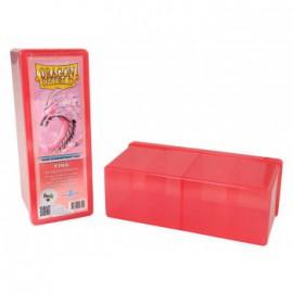 Pudełko Dragon Shield na 240 kart - różowe