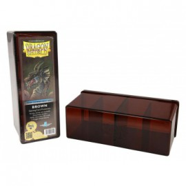 Pudełko Dragon Shield na 240 kart - brązowe