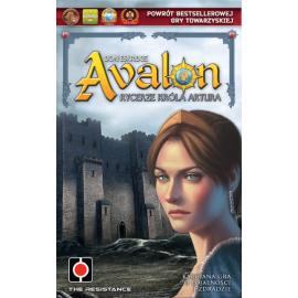 2w1: Gra Avalon Rycerze Króla Artura + Lancelot dodatek