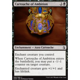 Cartouche of Ambition