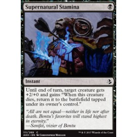 Supernatural Stamina