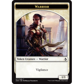 Warrior 1/1 Token 17 - AKH