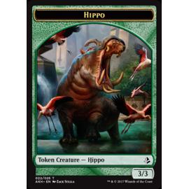 Hippo 3/3 Token 22 - AKH