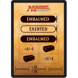 Embalmed Token - AKH