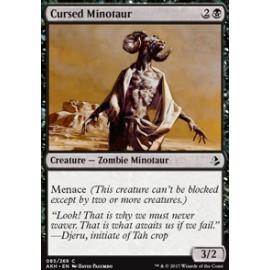 Cursed Minotaur FOIL