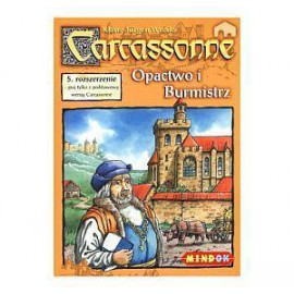 Carcassonne: Opactwo i Burmistrz