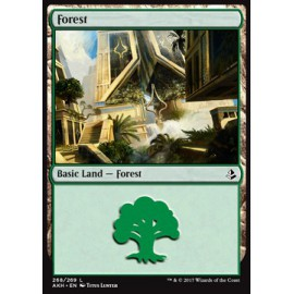 Forest Amonkhet FOIL 268