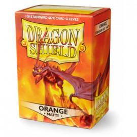 Koszulki Dragon Shield Matowe Pomarańczowe 100 szt.