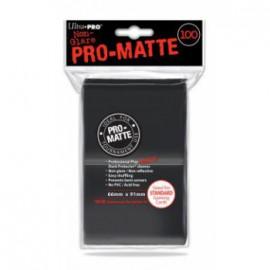 Koszulki PRO-MATTE Czarne 100 szt. - Ultra Pro