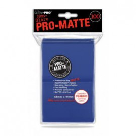 Koszulki PRO-MATTE Niebieskie 100 szt. - Ultra Pro